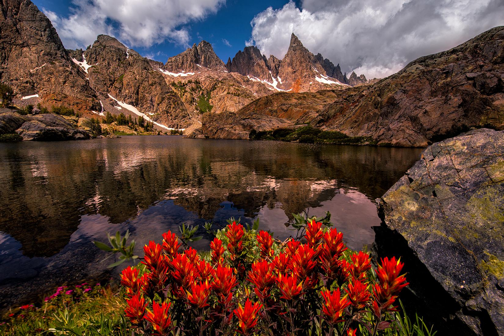 Minaret Lake Paintbrush blog